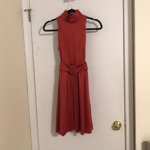 Coral/red party dress
